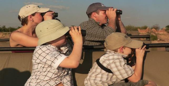 Safari Special: Children under 15 - Free of charge! (Sanctuary Lodges in Botswana & Zambia)..