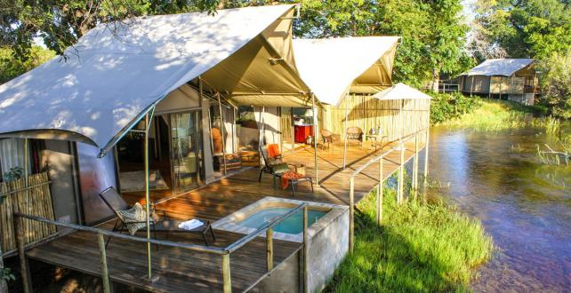 Safari Special: Opening of Zambezi Sands River Camp: Huge Discount!..