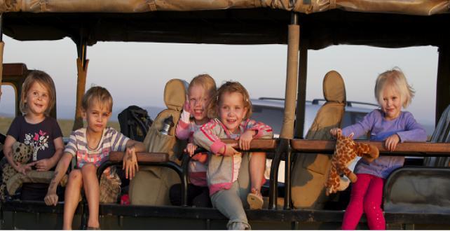 Safari Special: Asilia Luxury Lodges: KIDS GO FREE!..