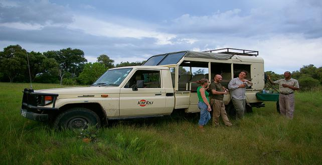 Safari Trip Ideas: 8 Days Accommodated Mobile Safari in the Okavango Delta..