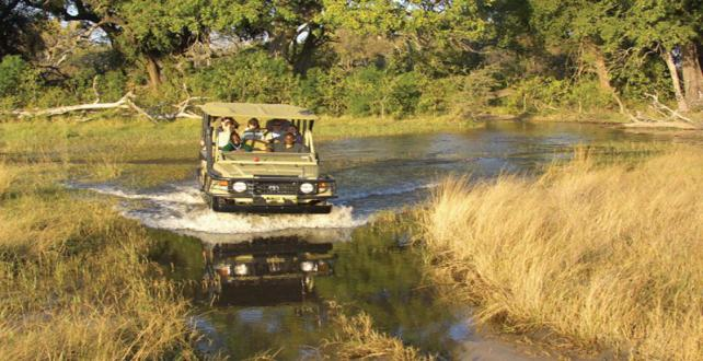 Safari Special: 4 nights Okavango Delta, 2 camps! ..