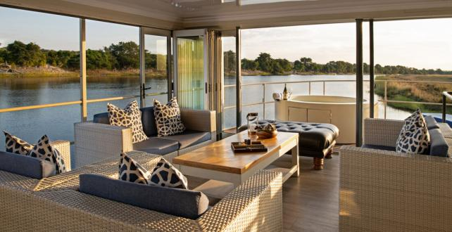 Safari Special: Free night on the luxurious Zambezi Queen or Chobe Princess houseboats at Chobe National Park ..